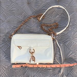 Rebecca Minkoff MiniMac White + Rose Good Bag